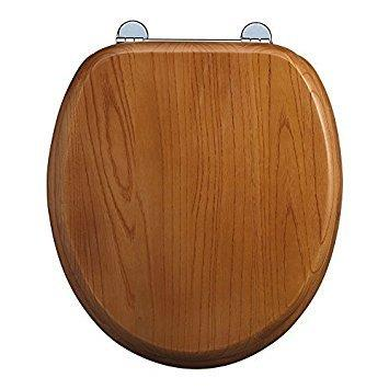 Magnificent Burlington Bar Hinged Golden Oak Toilet Seat With Lift Handles S11 Forskolin Free Trial Chair Design Images Forskolin Free Trialorg