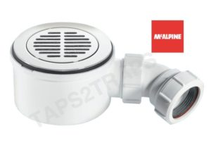 "McAlpine ST90CPB-S-70 1½"" 90mm Shower Trap NEW & IMPROVED - Slotted"