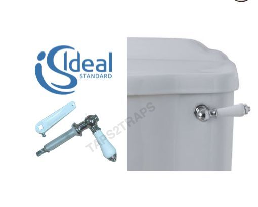 Ideal Standard Genuine E4755AA Trevi Traditional White Porcelain Cistern  Lever