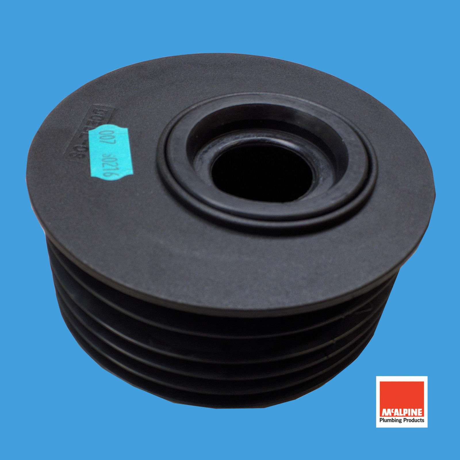Waste Pipe Adapter for 110mm Soil Pipe Takes 32mm 40mm or 50mm Waste Pipe