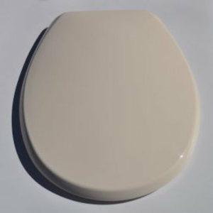 Atlantic Spa Soft Cream Toilet Seat – Made By BEMIS Carrara Matta 766