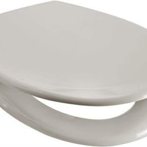 Euroshowers Rainbow Soft Close Toilet Seat (Cream)