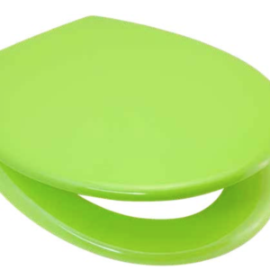 Quality Duroplastic Green Soft Close Toilet Seat – Top or Bottom Fixings