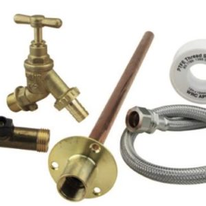 COMPLETE OUTDOOR GARDEN DIY TAP KIT DIY EASY TO FIT FOR PERMANENT INSTALLATION