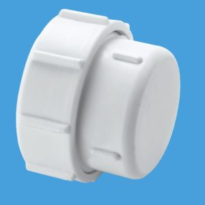 Mcalpine Multifit Blanking Cap For 40mm 1-1-2 Waste Pipe PART NO. T23U